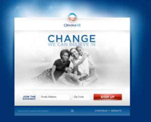 home do site do obama