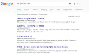 pesquisa google O que fazer para o seu site aparecer no Google